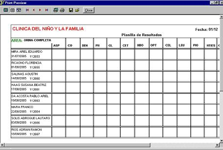 Info Lab Screenshot 1